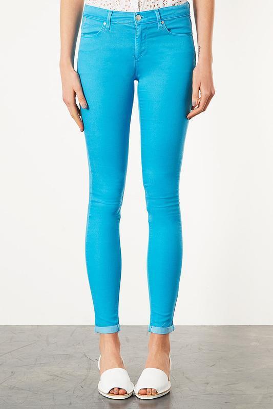 Новые яркие джинсы супер скинни