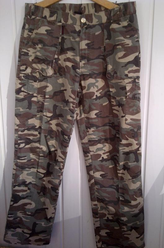 Треккинговые штаны в камуфляже airwalk