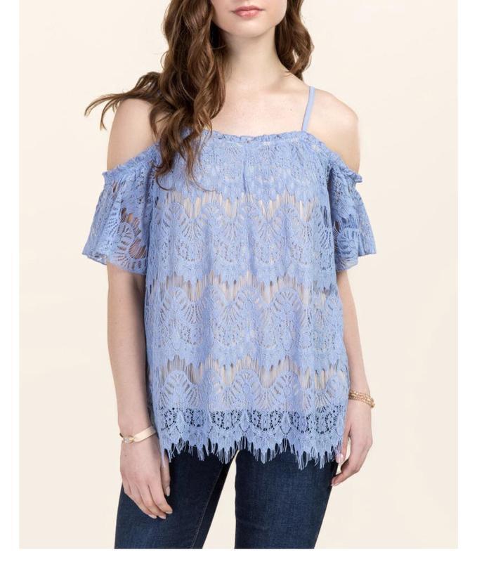 Блузка кружево francesca's