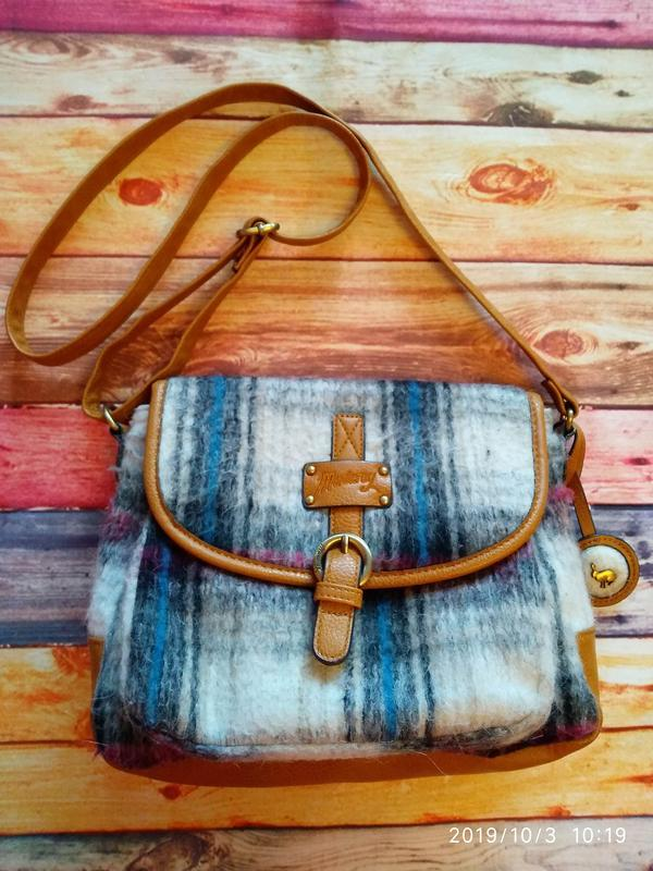 Шерстяная 🔥кросс-боди сумка оригинал mantaray