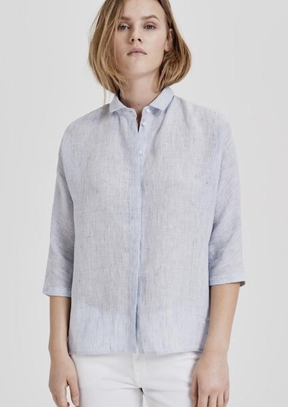 Стильная ♥️😎♥️ льняная блузка оверсайз opus.