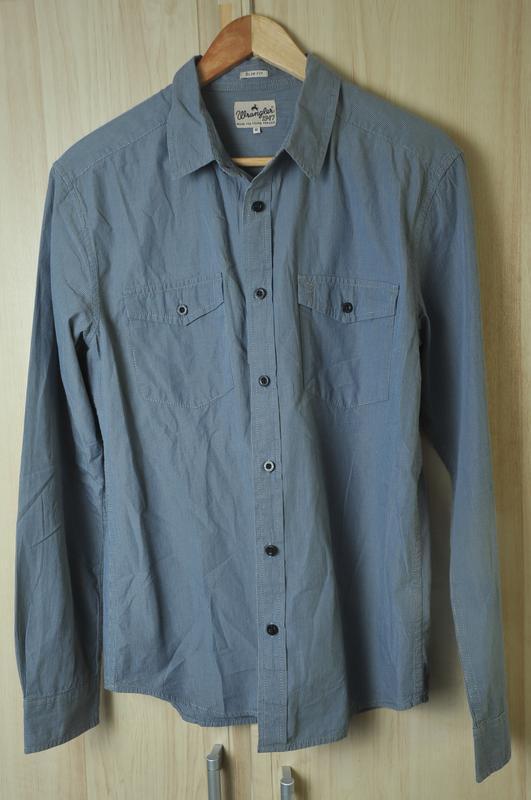 Стильная  рубашка wrangler