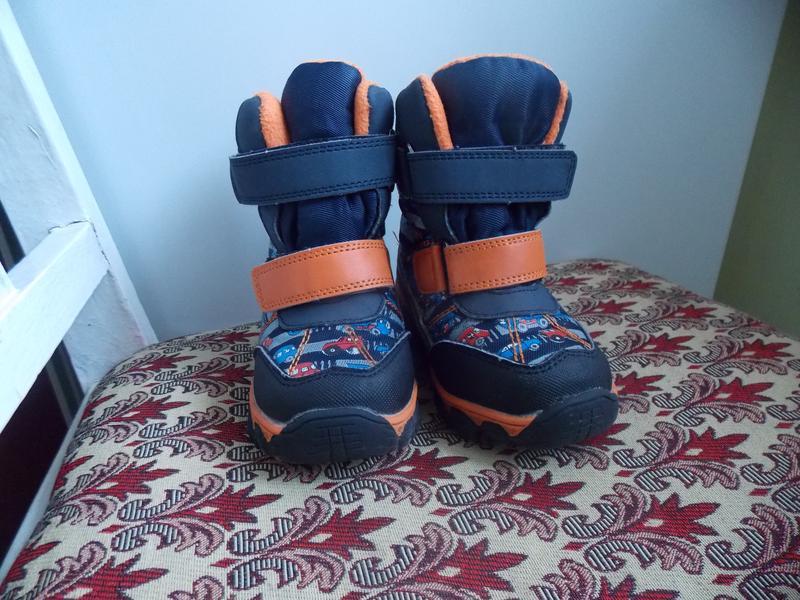 Зимние термо ботинки для мальчика С-Т09-04-В , том.м, размер 24