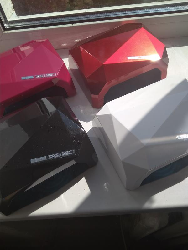 Уф-лампа для маникюра, сушки ногтей, 36 Вт, сенсорная, гибридная