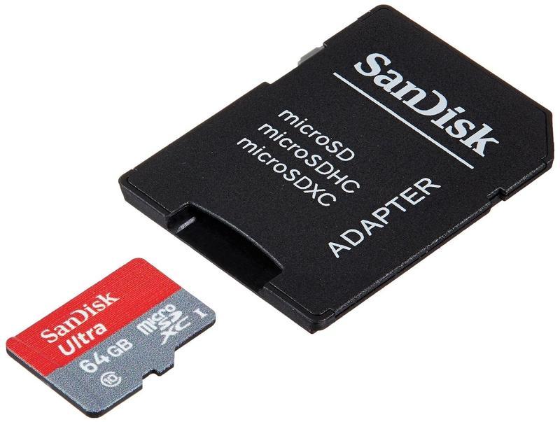 Карта памяти 64 GB MicroSD SanDisk Ultra. Оригинал! - Фото 2