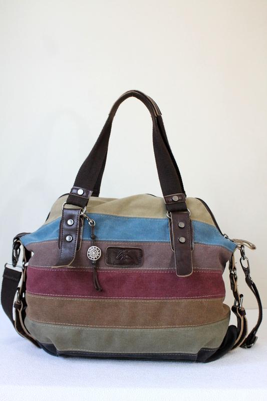 Стильная сумка текстиль