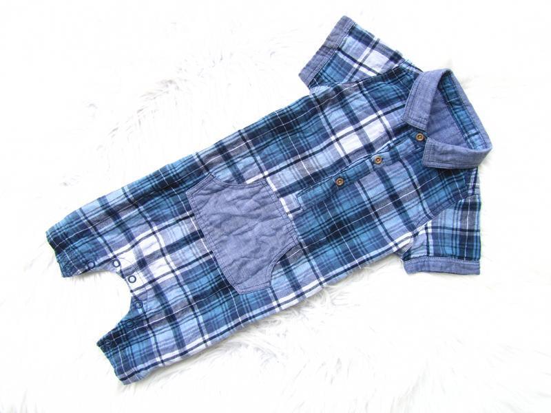 Стильный песочник рубашка  matalan