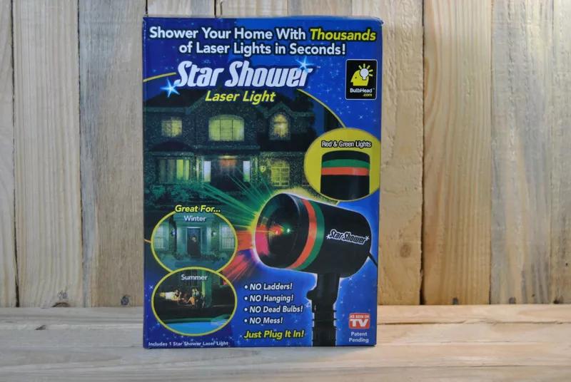 Star shover, лазерный проектор, гирлянда - Фото 3