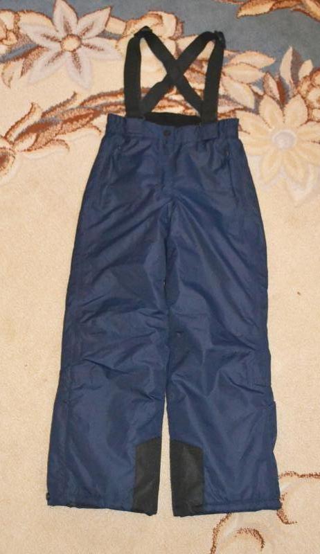 Термо брюки лыжные crane р.9-10 лет 134-140 см