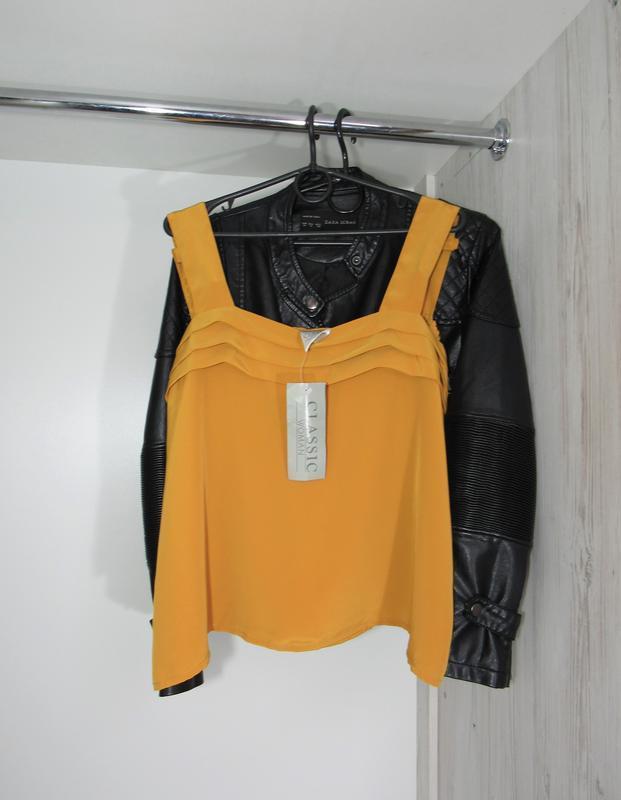 Акция до нового года! №97 новая майка блуза большой размер от ...