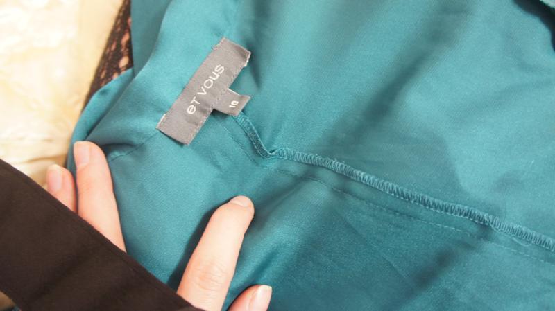 Шёлковая  блуза изумрудного цвета et vouse