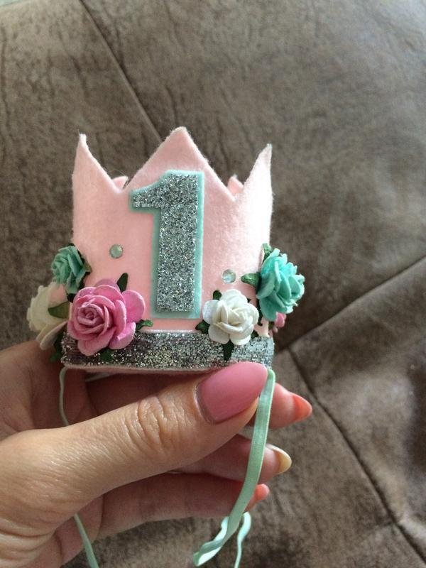 Корона на годик для принцессы