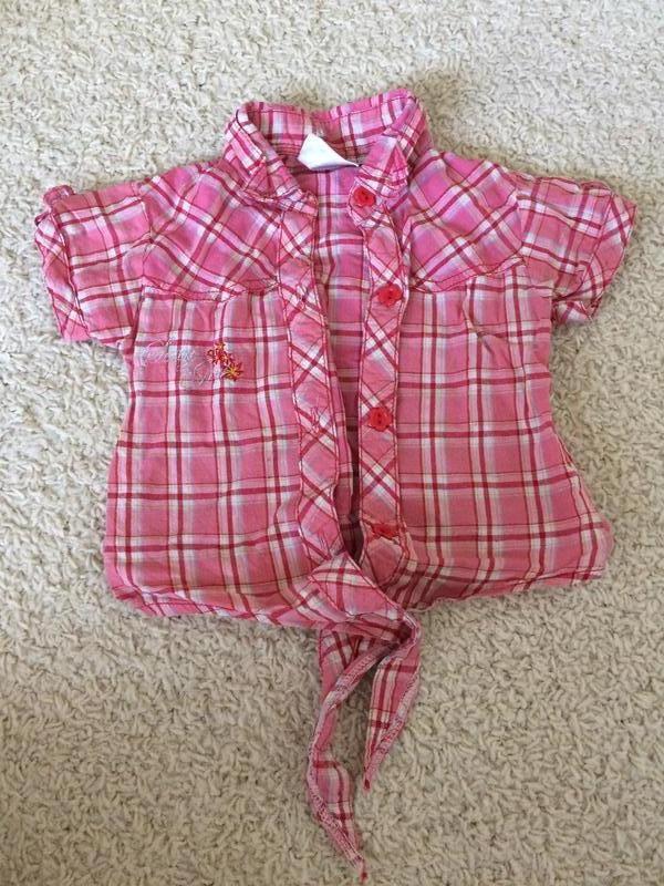 Рубашка на 1-2 годика