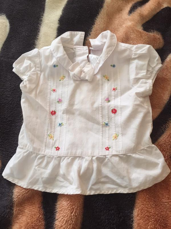 Гарна футболка/блуза хлопок 12міс