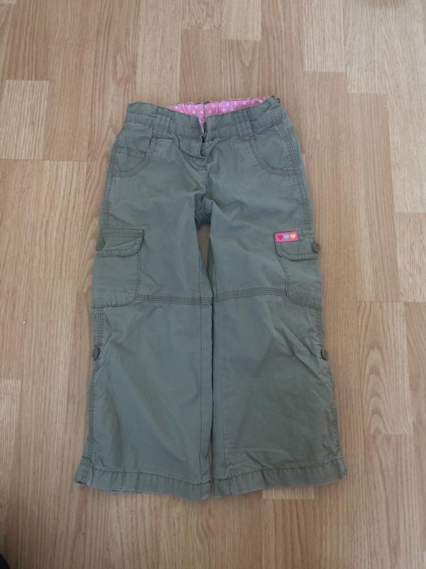 Утепленные штаны 3-4 года