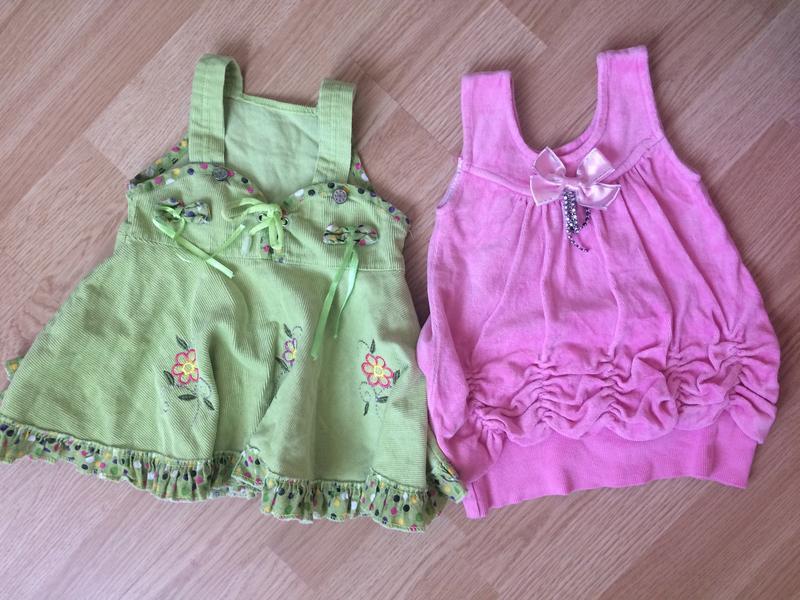 Красивые платья на малышку 6-9 мес
