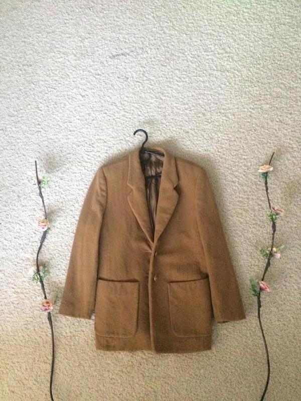 Осеннее пальто hucke s-m