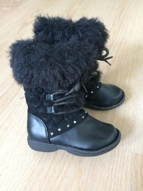 Красивые ботинки демисезонные 7размер