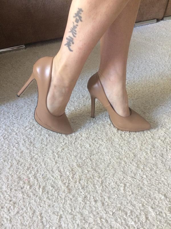Туфли бежевые 22,5 см