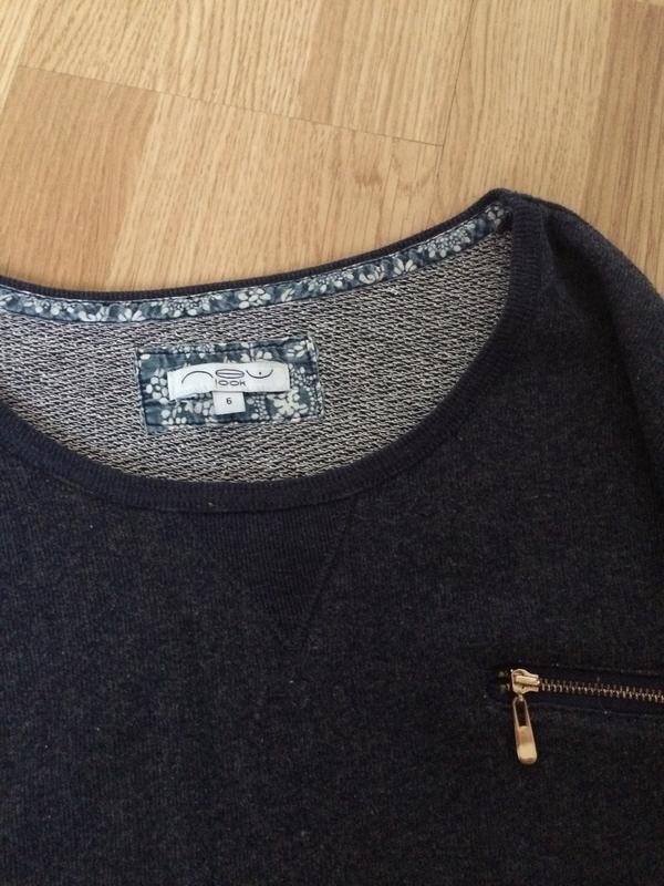 Красивый свитер двунить