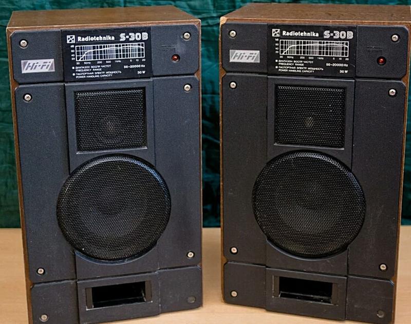 Колонки Радиотехника s30b