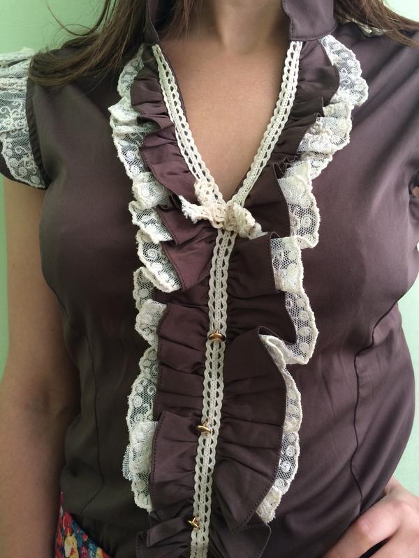 Игривая блуза) хс