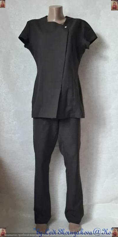 Новый стильный брючный костюм с оригинальной кофтой на кнопках...