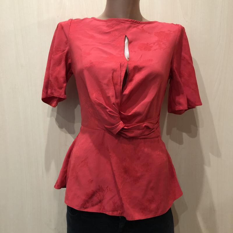 Красная блуза miss