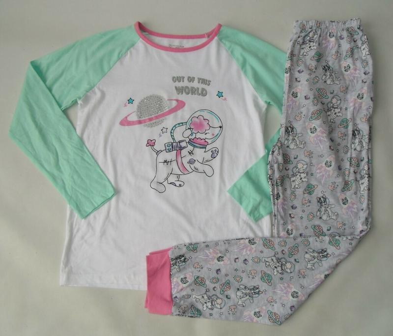 Пижама хлопок 11-12 л 152 см primark англия