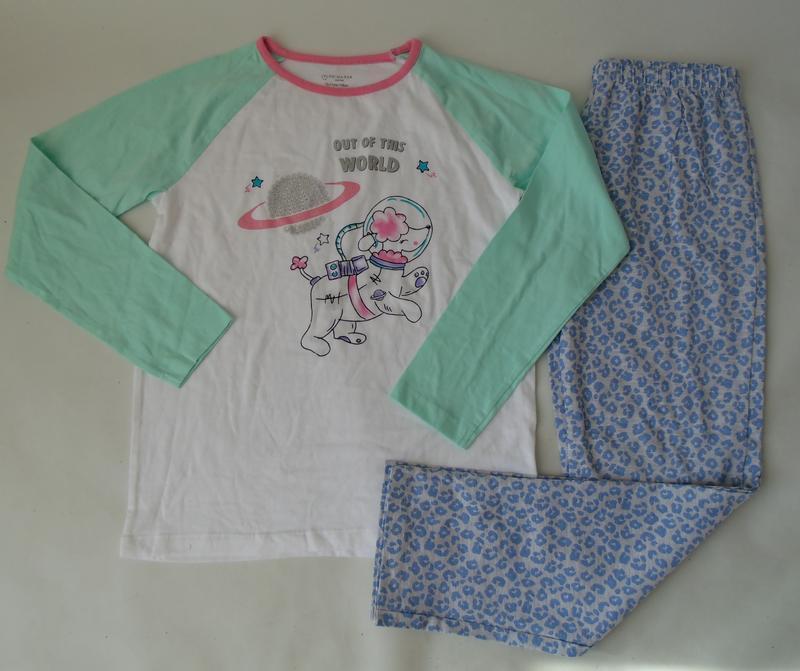 Пижама 10-11 лет 146 см primark англия