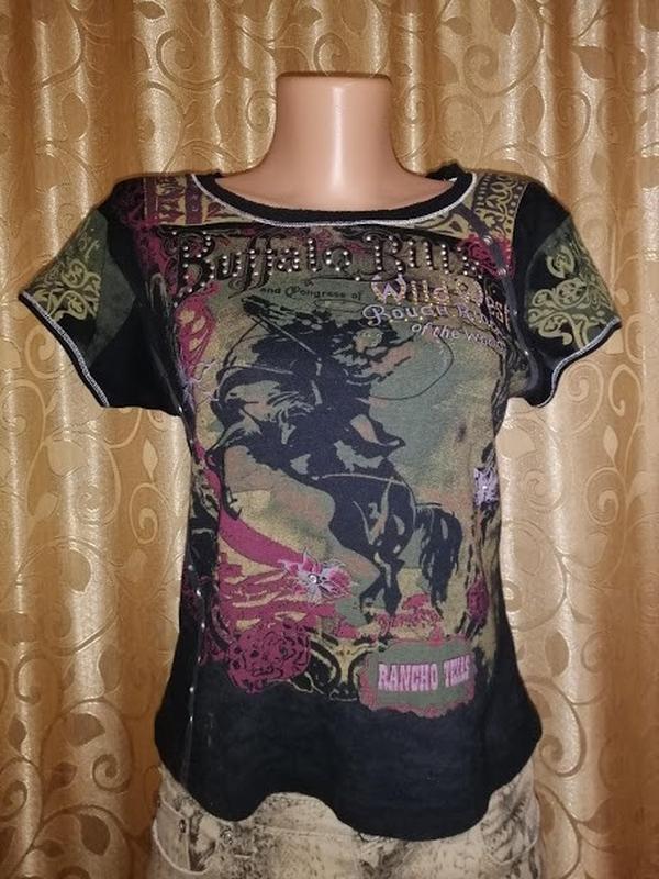 🔥🔥🔥стильная трикотажная футболка rancho texas🔥🔥🔥