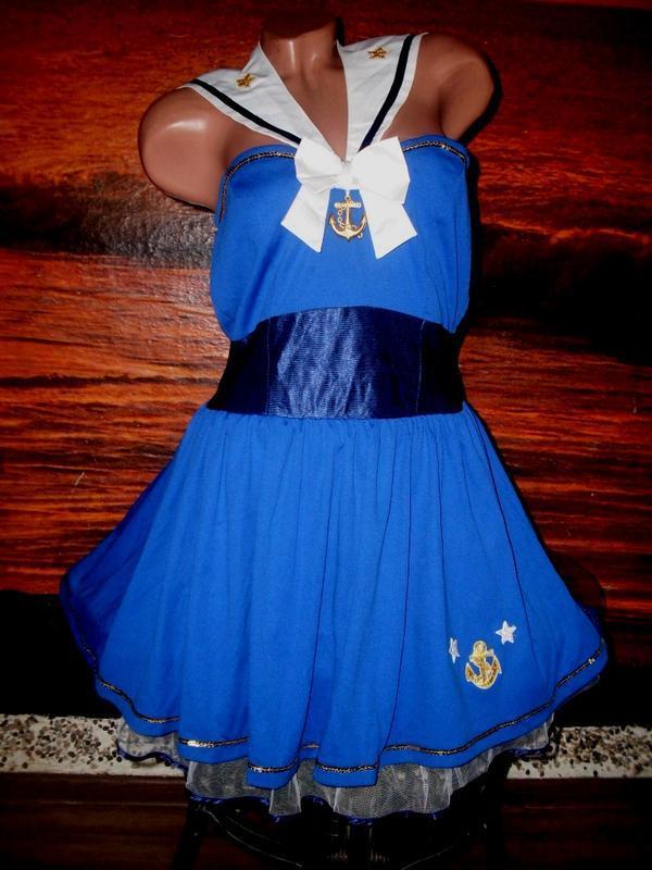 Секси-платье костюм морячка маскарад ролевые игры косплей
