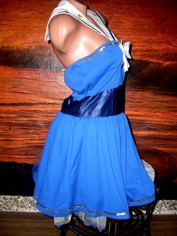 Секси-платье костюм морячка маскарад ролевые игры косплей - Фото 4