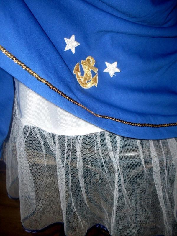 Секси-платье костюм морячка маскарад ролевые игры косплей - Фото 7