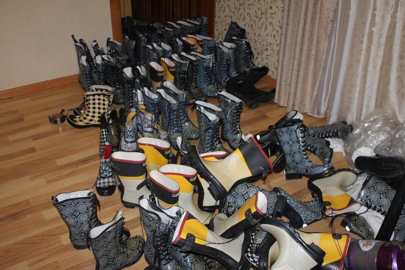 Резинове взуття жіноче чоботи резиновые сапоги Опт договірна ціна