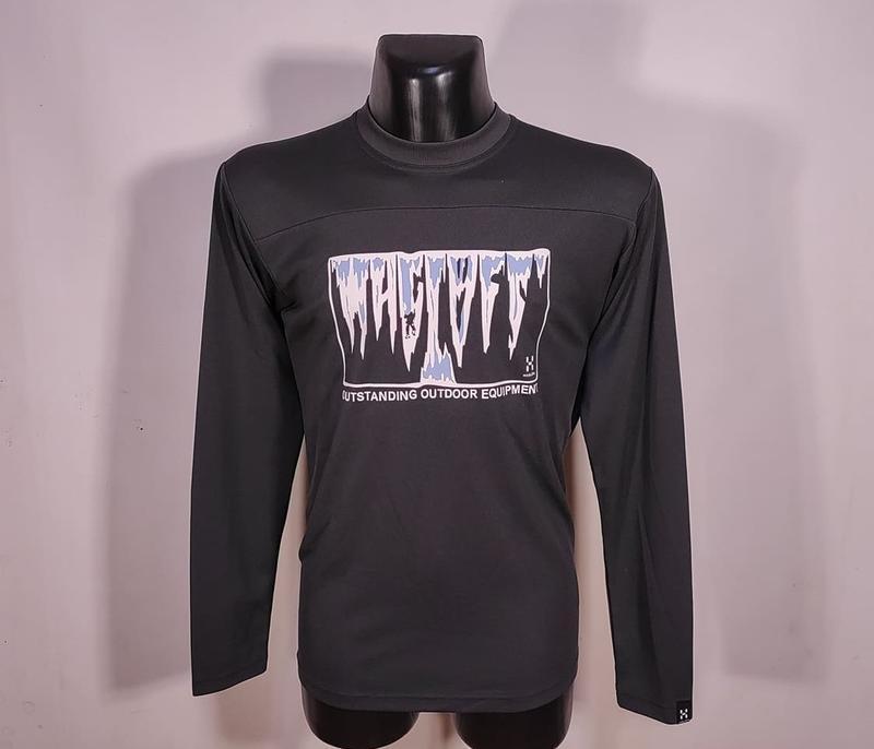 Лонслив haglofs ls / реглан кофта футболка / в стиле mammut