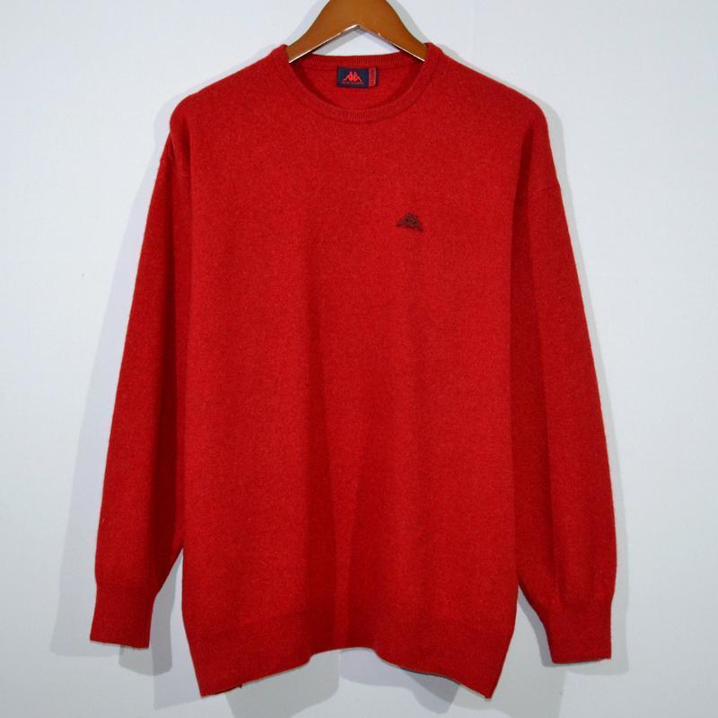 Свитер kappa wool jumper