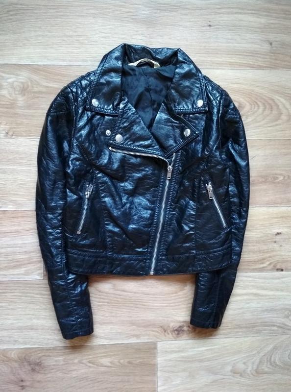 Курточка косуха (экокожа)