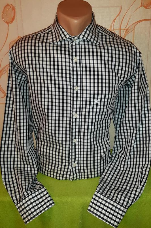 Крутая клетчатая рубашка burberry london