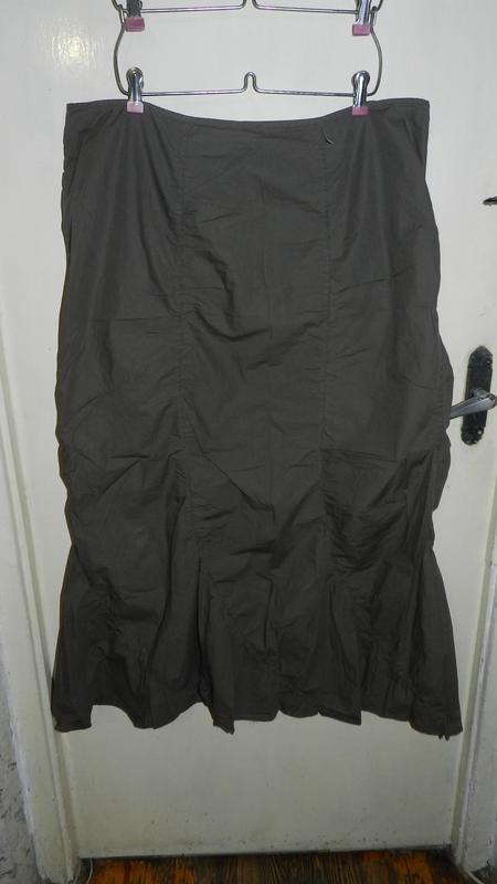 Натурал-100%коттон,длинная юбка,большого 20-22размера,цвета ха...