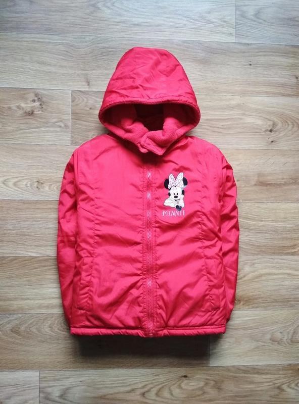 Курточка с минни маус