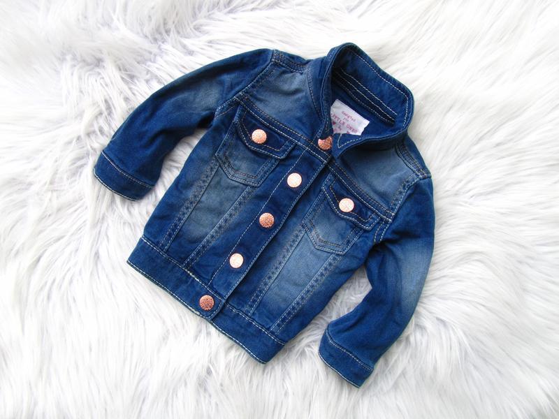 Стильная джинсовая  куртка f&f
