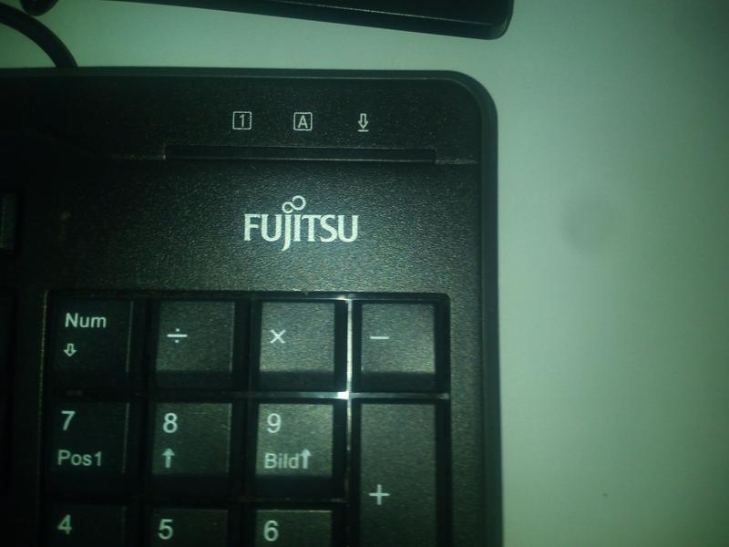 Клавиатура Fujitsu