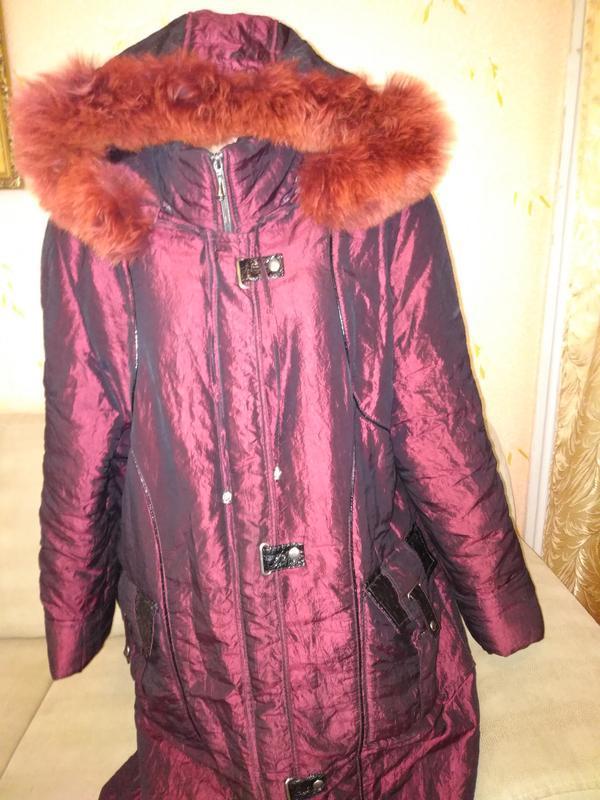 Теплое, красивое пальто размер 54