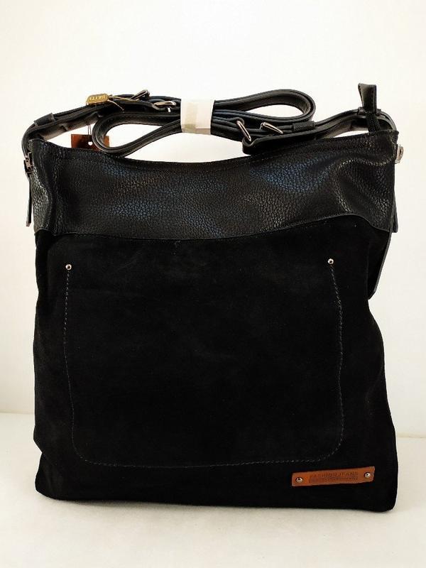 Замшевая сумка batty