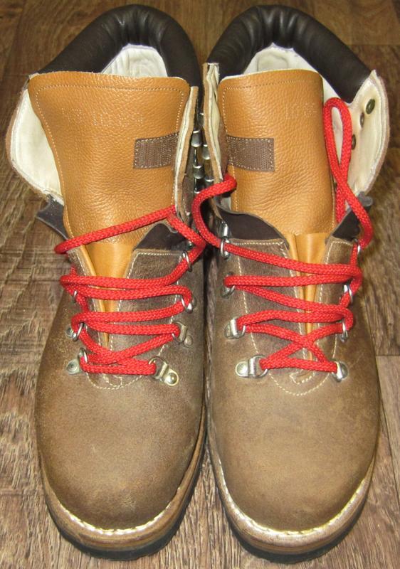Горные кожаные ботинки фирмы Remisberg, Швейцария