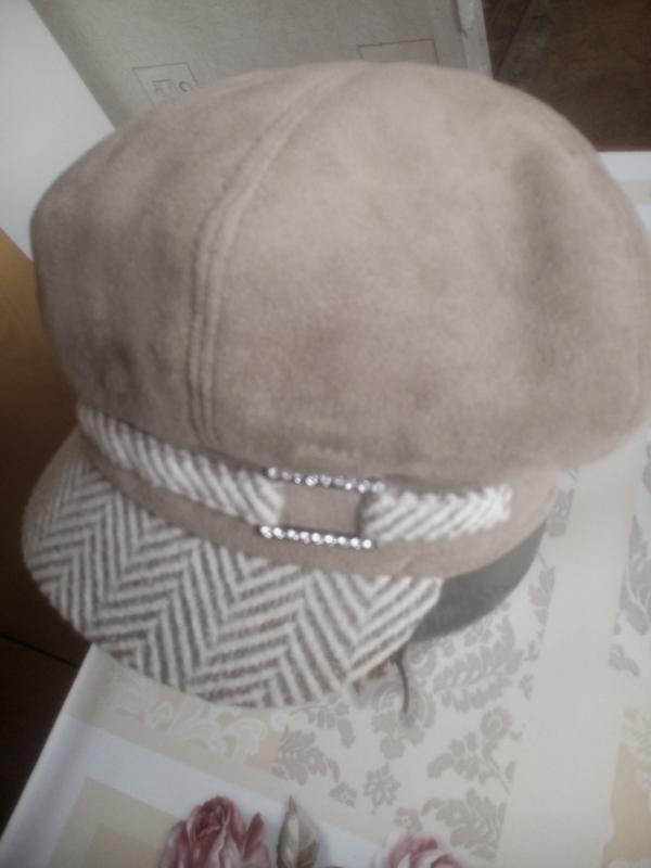 Шапка-кепка зимняя