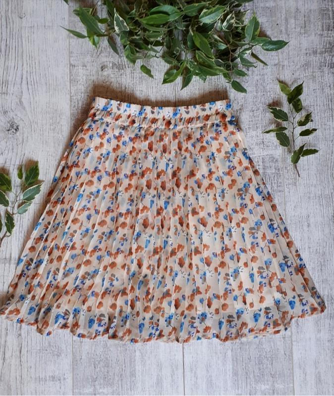 Юбка солнце, плиссированная юбка