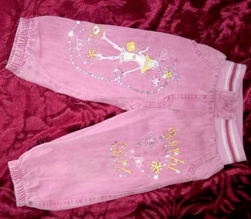 Розовые джинсы Barbie Girl