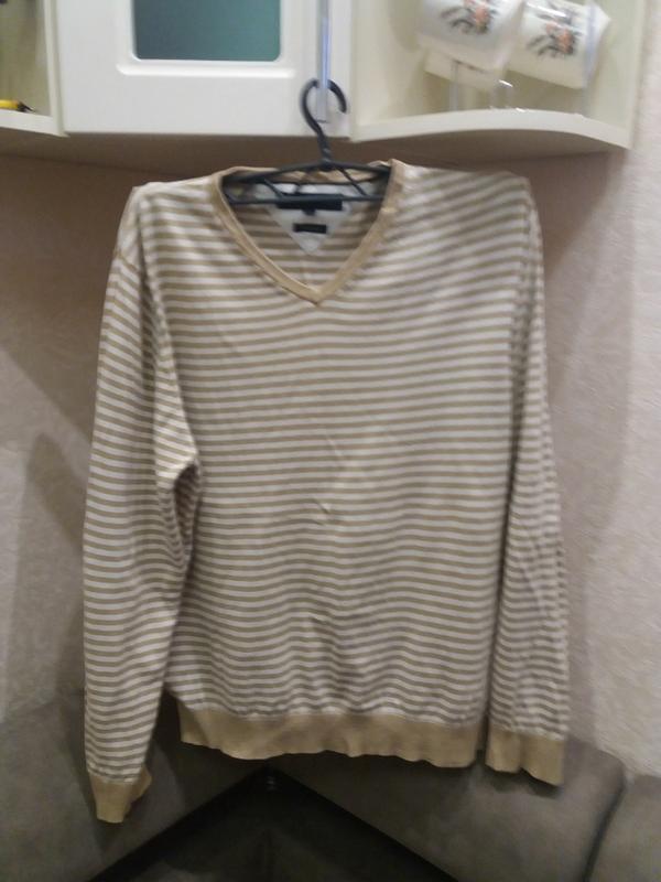Мужской пуловер tommi hilfiger l